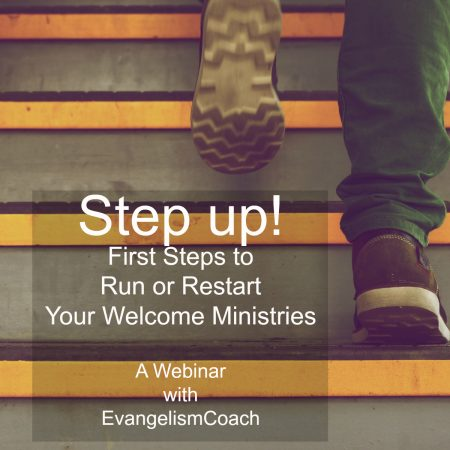 First Steps Webinar for Hospitality Ministry Leaders