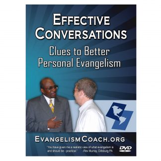 Spiritual conversation is an art that you can learn. Learn the skills in this DVD set and grow more comfortable sharing Jesus with your friends.