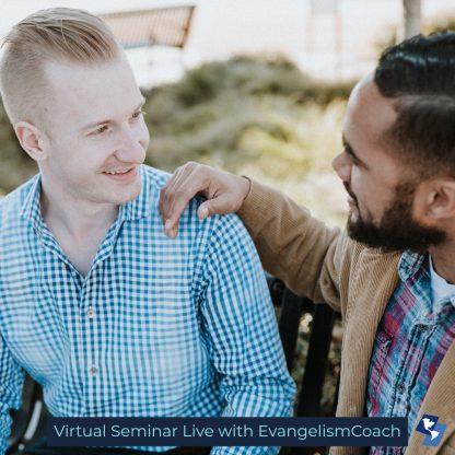 Two Men Having Spiritual Conversation